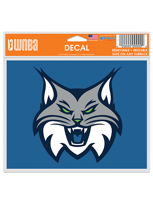 Minnesota Lynx Multi Use 5x6 Full Face Logo Decal