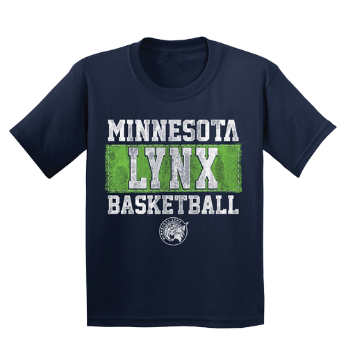 Minnesota Lynx Youth Patch T-Shirt