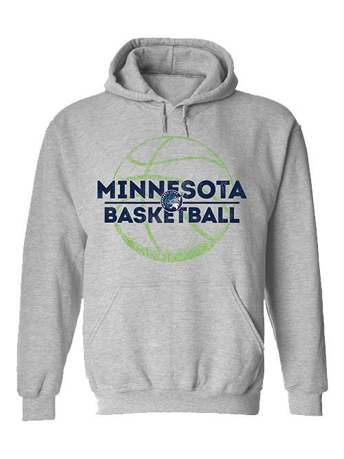 Minnesota Lynx Basketball Global Hoodie - Gray