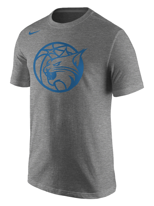 Minnesota Lynx Partial Logo Tri-Blend T-Shirt
