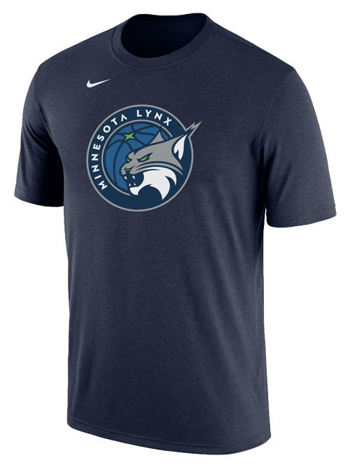 Minnesota Lynx Primary Logo Dri-Fit T-Shirt