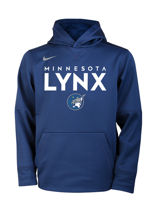 Minnesota Lynx Youth Wordmark Over Therma Hoodie