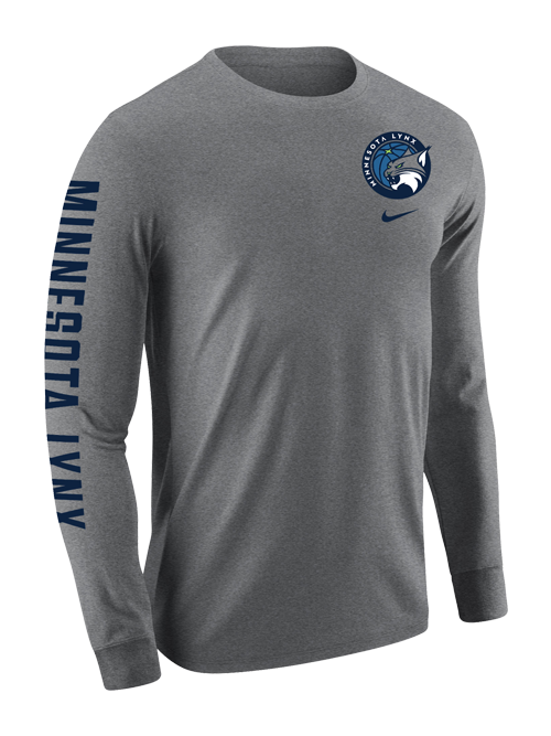 Minnesota Lynx Marled Long Sleeve T-Shirt
