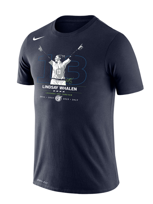 Minnesota Lynx Men's Lindsay Whalen Retirement Shooting T-Shirt