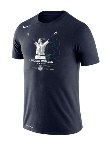 Minnesota Lynx Men's Navy Marled Short Sleeve Tee