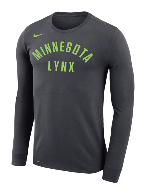 Minnesota Lynx Dri-Fit Legend Long Sleeve T-Shirt