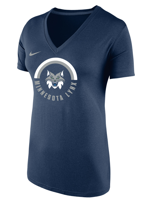 Minnesota Lynx Legend Full Over Stripes T-Shirt