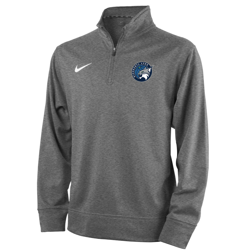 Minnesota Lynx Boys Gray Quarterzip
