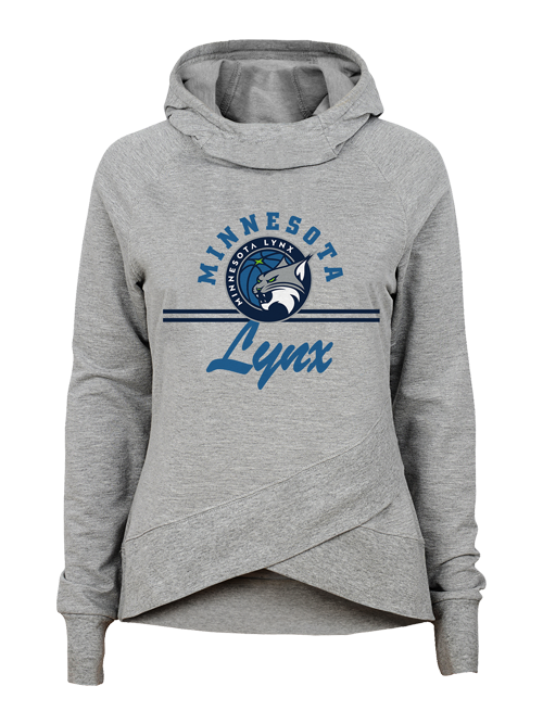 Minnesota Lynx Girls at the Court Funnel Neck Hoodie