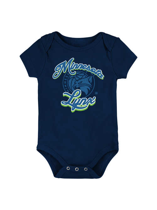 Minnesota Lynx Infant Curved Onesie