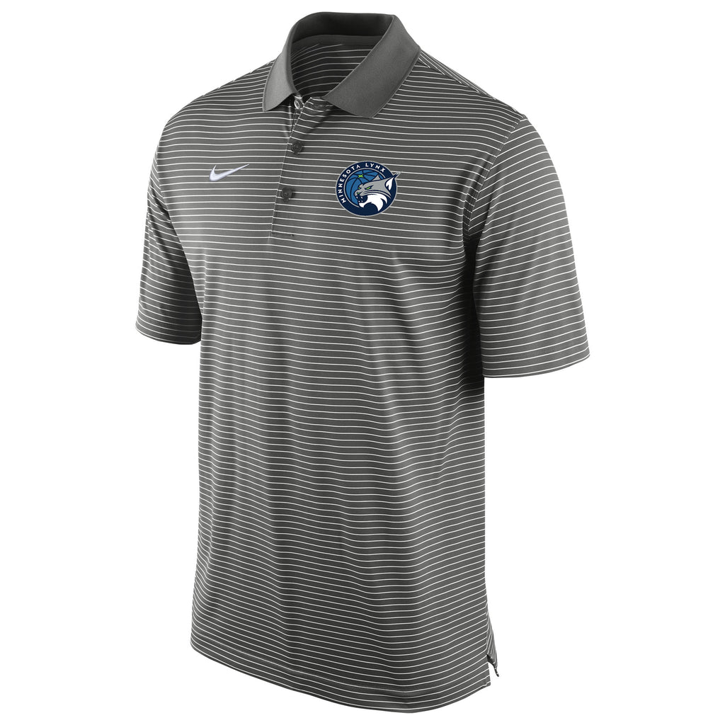 Minnesota Lynx Men's Stripe Polo