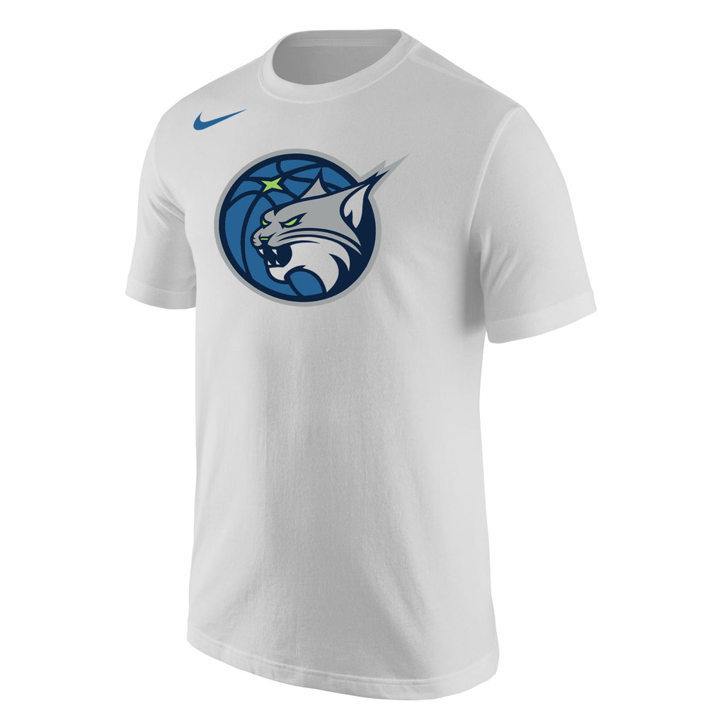 Minnesota Lynx Men's White Logo Tee