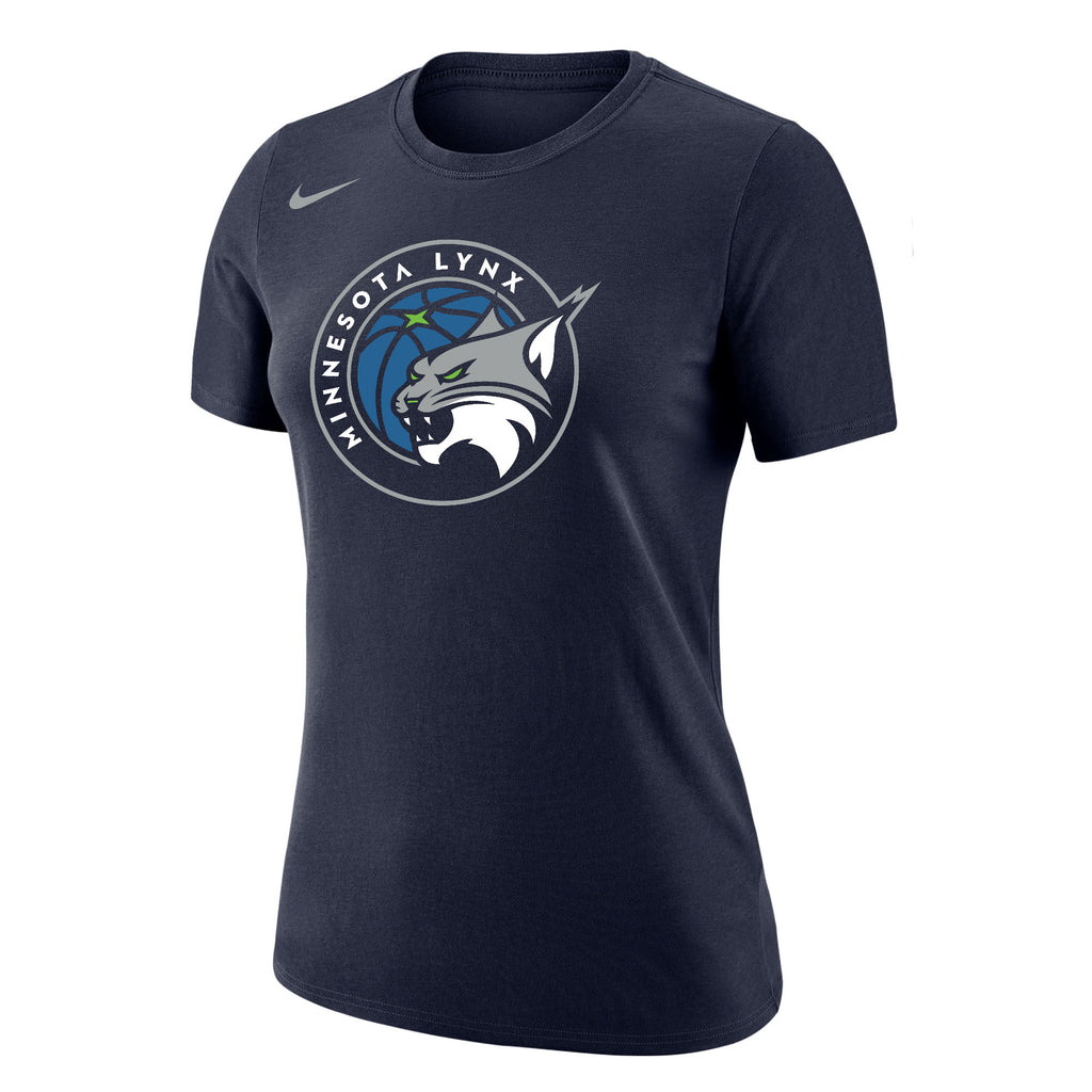 Minnesota Lynx Women's Dri-Fit Cotton Logo Tee