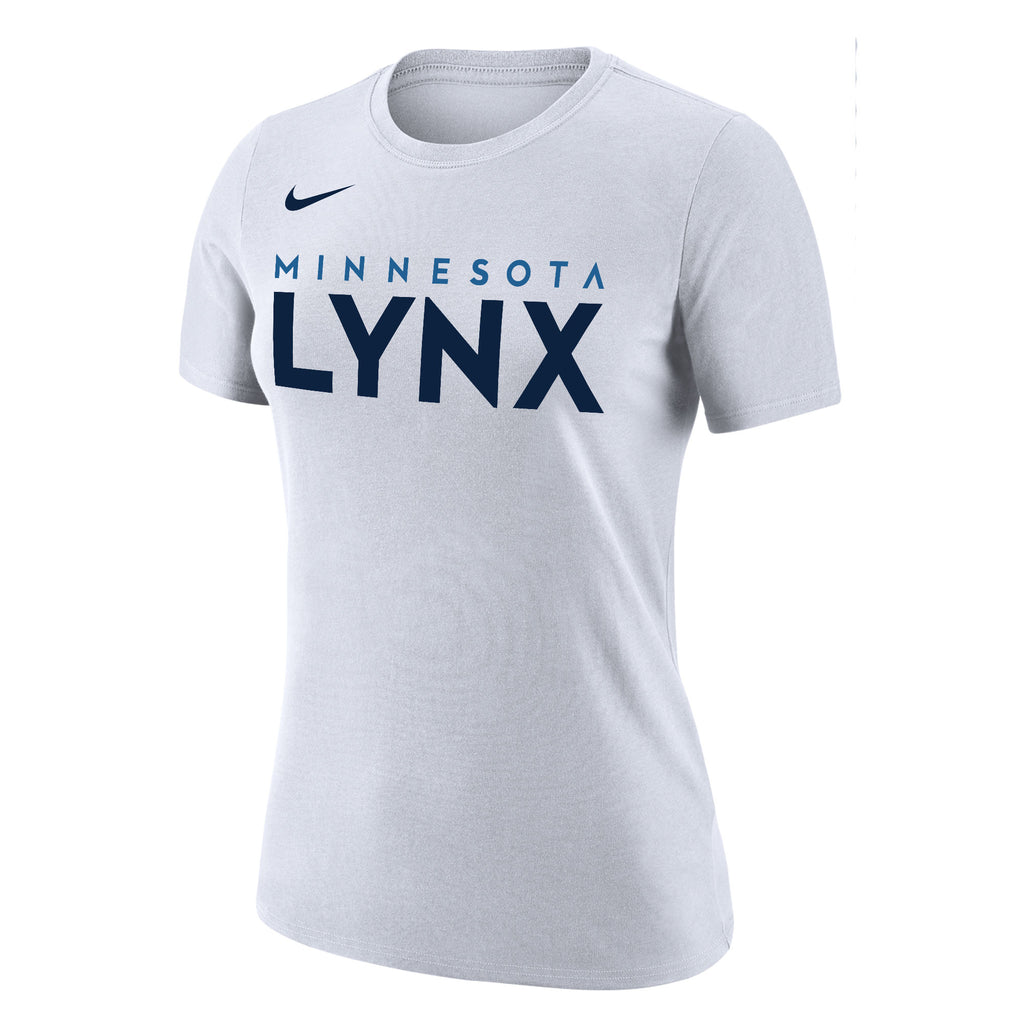 Minnesota Lynx Women's White Verbiage Tee