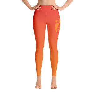 Leggings - Orange Ombre