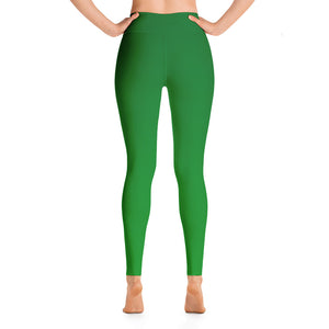 Leggings - Green Ombre