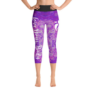 Capri Leggings - Amethyst