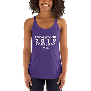 Evolution Event Racerback Tank - PORTLAND