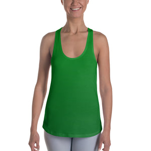 Racerback Tank - Green Ombre