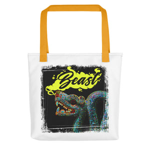 Beast routine-inspired Tote bag