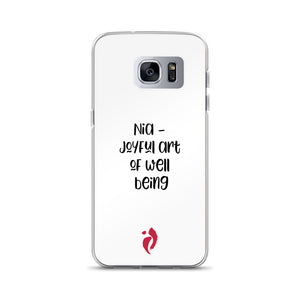 Samsung Case - The Joyful Art of Well Being