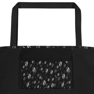 Nia Swish Beach Bag  - Blacks