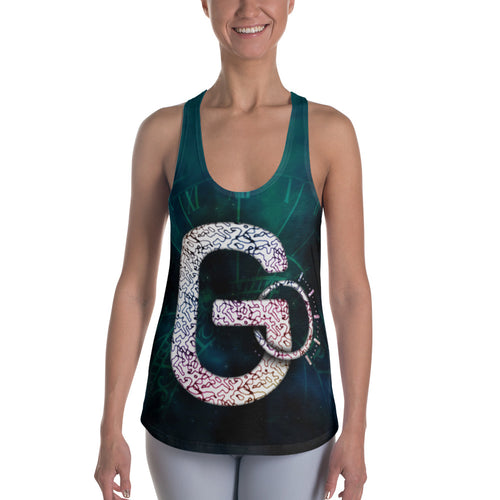 Go Routine-inspired Racerback Tank