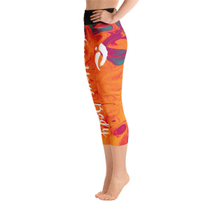 Capri Leggings - Fire Opal