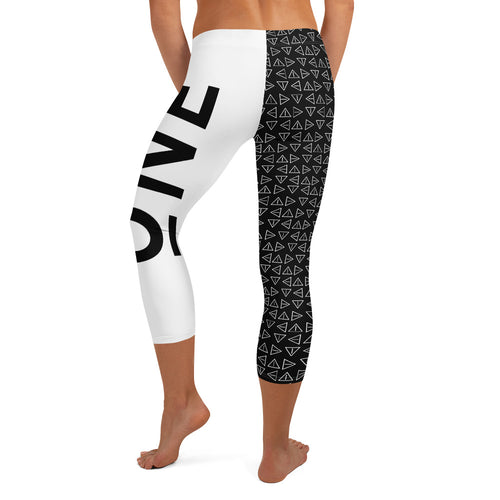 ONE INSPIRED Capri Leggings