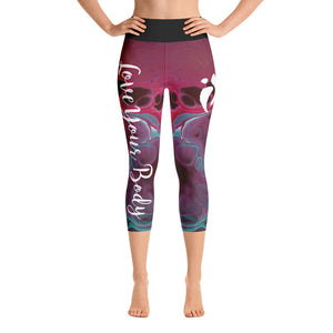 Capri Leggings - Fluorite