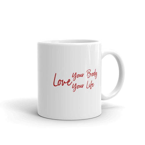 Nia Ceramic Mug - Love Your Body, Love Your Life