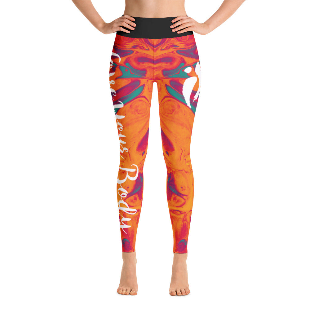 Leggings - Fire Opal