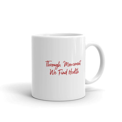 Nia Ceramic Mug - Through Movement We Find Health