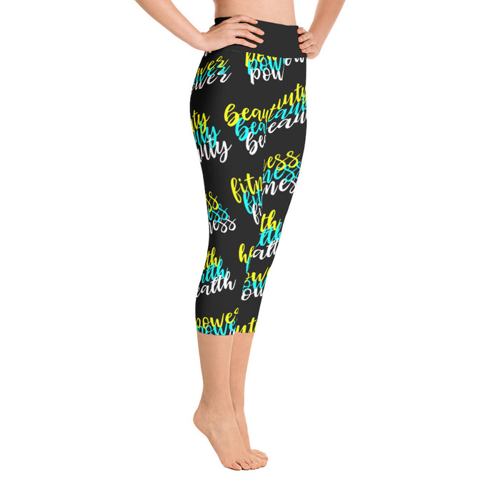 Capri Leggings - Nia Four Pillars