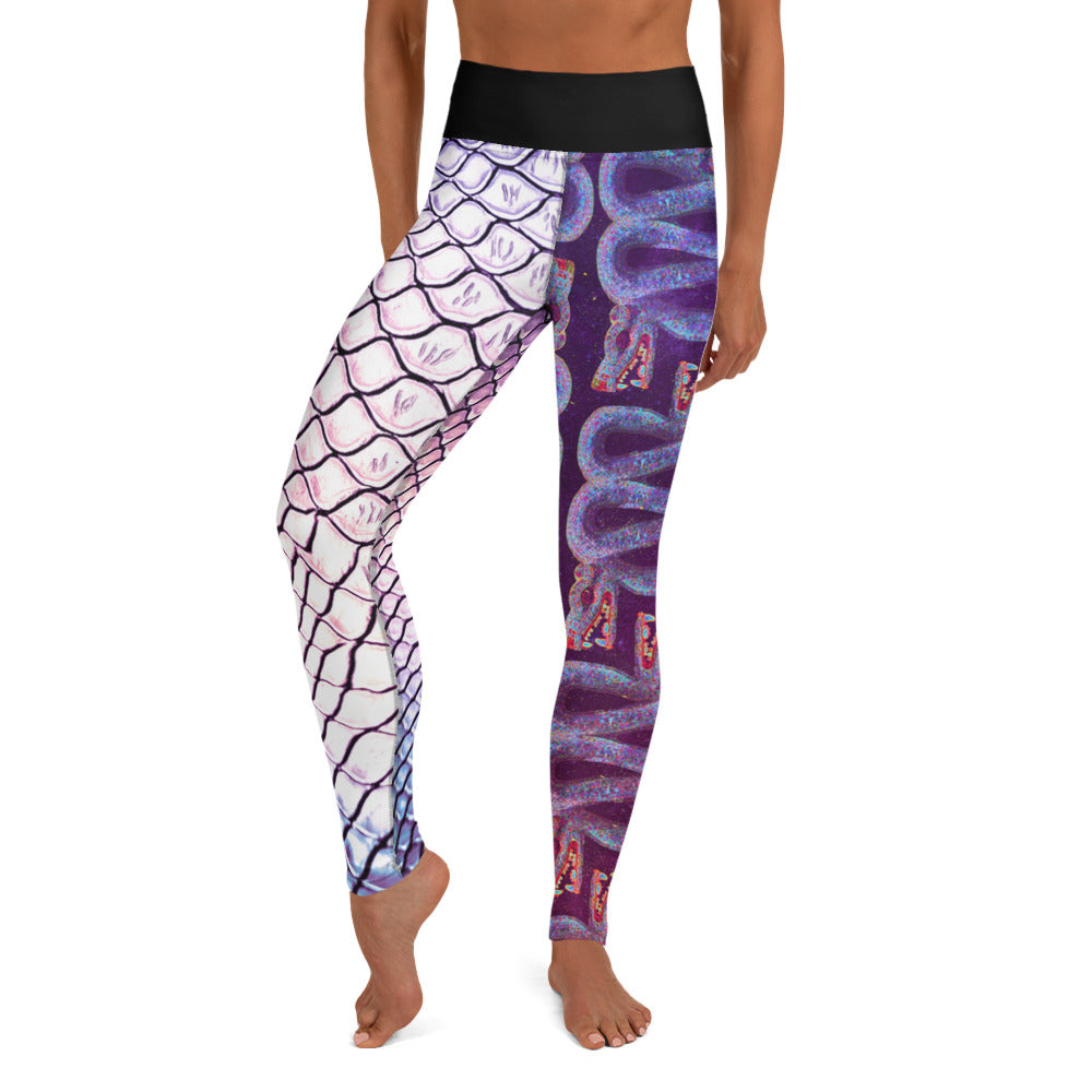 Beast Routine-inspired Leggings - (Split Design)