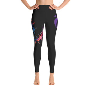 Leggings - Flow Routine-inspired Black (Hip Swish)