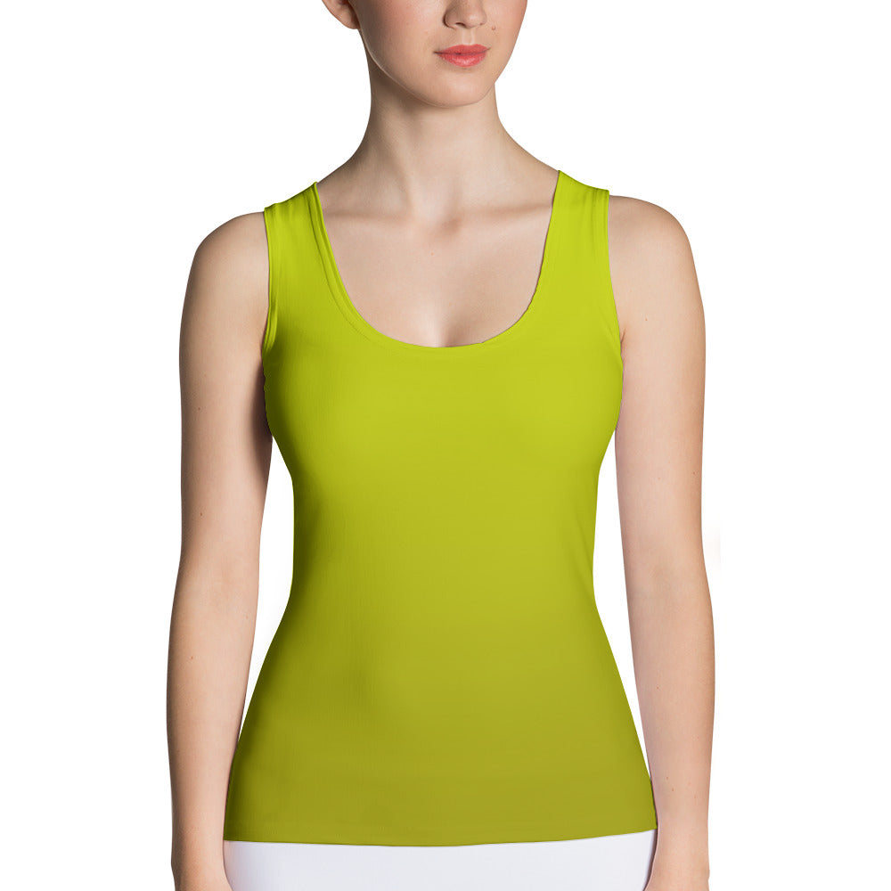 Tank Top - Yellow Ombre
