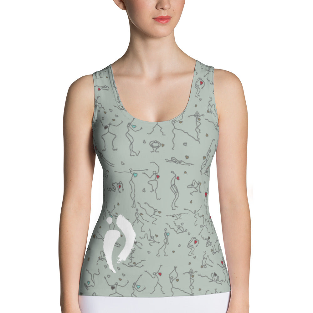 Form-fitting Tank Top -