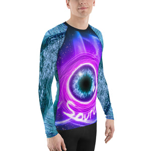 Source Routine-inspired Long Sleeve Shirt - Water