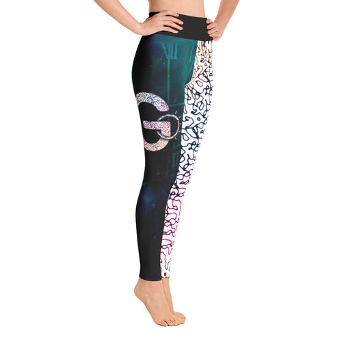 Go Routine-inspired Leggings Dual-color