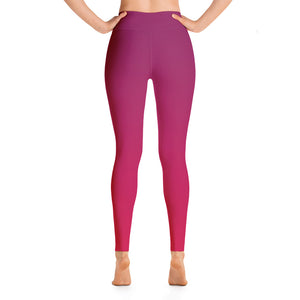 Leggings - Red Ombre