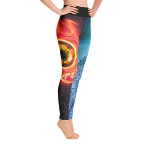 Source Routine-inspired Leggings - Fire