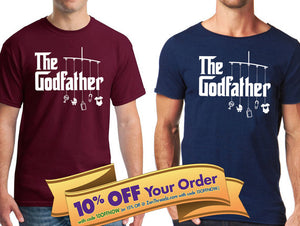 the godfather with toys unisex shirt / gift for godparents / baptism
