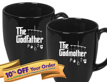 godmother coffee mug   |   double-sided logo   |   14 ounce   |   micro & diswasher safe