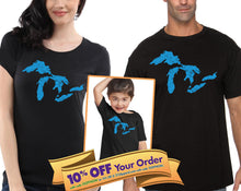 great lakes michigan set for man, woman and child (please note sizes @ checkout) - mix-N-match!
