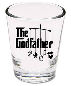 godfather shot glass   |   1.5 ounce   |   diswasher safe