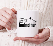 fairy godmother coffee mug (white)   |   11 ounce   |   micro & diswasher safe  |  gift for godmother
