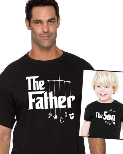 the father & the son shirt and toddler tee or bodysuit (romper)  |  fathers day or birthday gift (note size @ chkout) - Mix-N-Match!