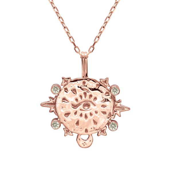 Divine Power 9k Rose Gold Necklace