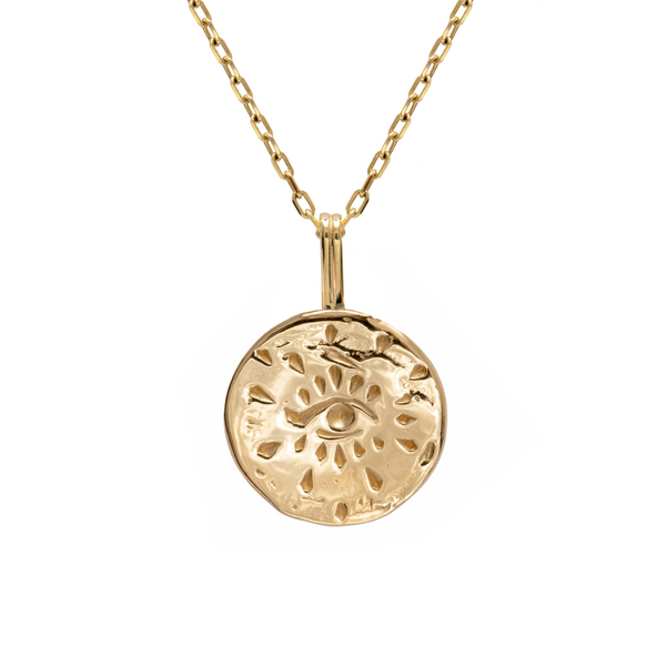 Inner Power Necklace 9k Yellow Gold